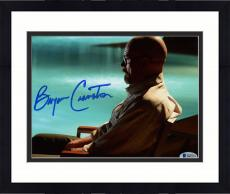 "Framed Bryan Cranston Autographed 8"" x 10"" Breaking Bad Sitting by Pool Photograph - Beckett COA"