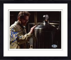 """Framed Bryan Cranston Autographed 8"""" x 10"""" Breaking Bad - Wearing Jacket and Glasses Photograph - Beckett COA"""
