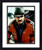 "Framed Burt Reynolds Autographed 11"" x 14"" Smokey And the Bandit- Red Jacket Photograph - Beckett COA"