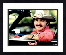 "Framed Burt Reynolds Autographed 11"" x 14"" Smokey And the Bandit- Sitting in Car Photograph - Beckett COA"