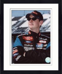 Framed Kurt Busch Autographed 8'' x 10'' Sharpie Rubbermaid Arms Crossed Photograph