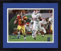 Framed BUSH, REGGIE AUTO (USC/VS OU/RUNNING) 8X10 PHOTO - Mounted Memories