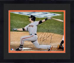 "Framed Buster Posey San Francisco Giants 2012 World Series Champions Autographed 16"" x 20"" Photograph"