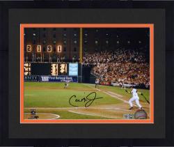 "Framed Cal Ripken Jr. Baltimore Orioles 2131 Autographed 8"" x 10"" Photograph"