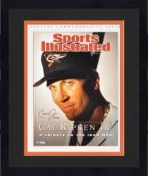 Framed Cal Ripken Jr. Baltimore Orioles Sports Illustrated Cover Autographed 16'' x 20'' Commemorative Issue Photograph with 2632 Inscription