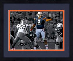 "Framed Cam Newton Auburn Tigers Autographed 11"" x 14"" Spotlight Pointing Photograph"