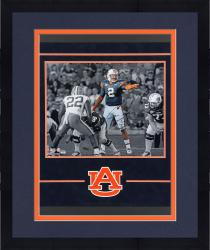 Framed Cam Newton Auburn Tigers Autographed 16'' x 20'' Spotlight Photograph - Mounted Memories