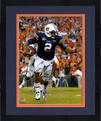 Framed Cam Newton Auburn Tigers Autographed 16'' x 20'' Stiff Arm Photograph - Mounted Memories