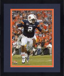 Framed Cam Newton Auburn Tigers Autographed 8'' x 10'' Stiff Arm Photograph - Mounted Memories