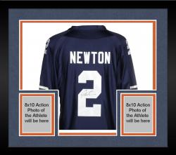 Framed Cam Newton Auburn Tigers Autographed Jersey