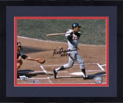"Framed CAREW, ROD AUTO ""HOF 91"" (TWINS/HORIZ SWING)(MLB) 8X10 PHOTO - Mounted Memories"