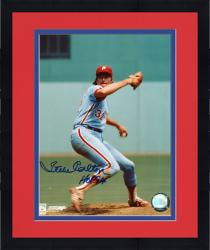 Framed Steve Carlton Autographed Phillies 8x10 Photo
