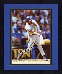 Framed Joe Carter Autographed Blue Jays 8x10 Photo