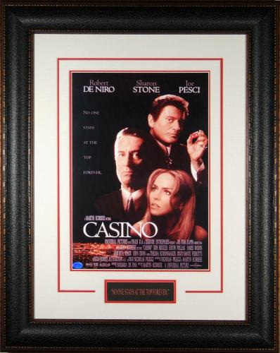 Framed Casino poster – Small