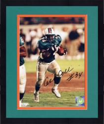 """Framed Cecil Collins Miami Dolphins Autographed 8"""" x 10"""" Running Photograph"""