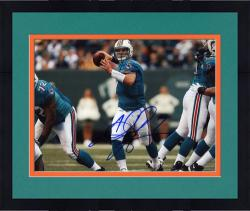 Framed Chad Henne Signed Photograph - Miami Dolphins 8x10 Mounted Memories