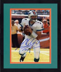 Framed Chad Henne Signed Picture - Miami Dolphins 8x10 Mounted Memories