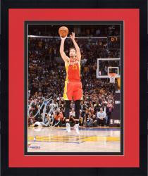 "Framed Chandler Parsons Houston Rockets Autographed 8"" x 10"" Buzzer Photograph"