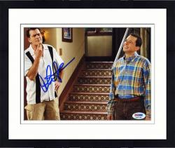 Framed Charlie Sheen Autographed 8x10 Photo