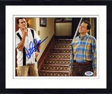 "Framed Charlie Sheen Autographed 8"" x 10"" with Brother Photograph"