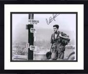 """Framed Charlie Sheen Platoon Autographed 11"""" x 14"""" Photograph - JSA"""