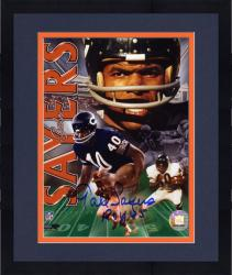 "Framed Chicago Bears Gale Sayers Autographed 8"" x 10"" Photograph with ""1965 ROY"" Inscription"