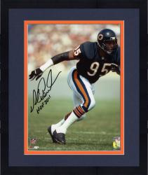 "Framed Chicago Bears Richard Dent Autographed 8"" x 10"" Photograph with ""Hall of Fame 2011"" Inscription"