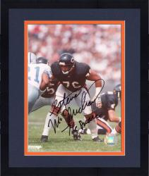Framed Chicago Bears Steve McMichael Autographed 8'' x 10'' Photograph