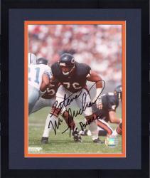 "Framed Chicago Bears Steve McMichael Autographed 8"" x 10"" Photograph"
