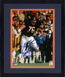 Framed Chicago Bears Steve McMichael Autographed 8'' x 10'' Photograph with ''76 Bears'' Inscription