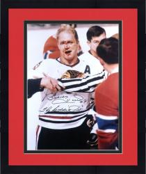 "Framed Chicago Blackhawks Bobby Hull ""Jet"" Autographed 16"" x 20"" Photo"