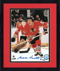 Framed Chicago Blackhawks Cliff Koroll Autographed 8'' x 10'' Photo -