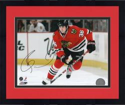 "Framed Chicago Blackhawks David Bolland Autographed 8"" x 10"" Photo -"