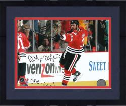 "Framed Chicago Blackhawks Dustin Byfuglien 2010 Stanley Cup Champions Autographed 8"" x 10"" Photo ---"