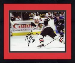 "Framed Chicago Blackhawks Martin Lapointe Autographed 8"" x 10"" Photo"