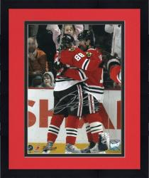 Framed Chicago Blackhawks Patrick Kane Autographed 8'' x 10'' Photo