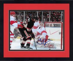 "Framed Chicago Blackhawks Troy Brouwer Autographed 8"" x 10"" Photo -"