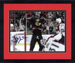"Framed Chicago Blackhawks Troy Brouwer Autographed 8"" x 10"" Photo"