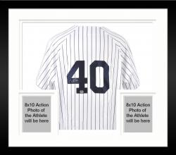 Framed Chien-Ming Wang New York Yankees Autographed Jersey