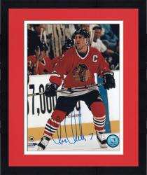 "Framed Chris Chelios Chicago Blackhawks Autographed 8"" x 10"" Photograph"