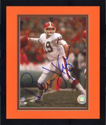 Framed Cleveland Browns Bernie Kosar Autographed Photo