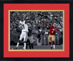 "Framed Colin Kaepernick San Francisco 49ers Autographed 11"" x 14"" Spotlight Photograph"