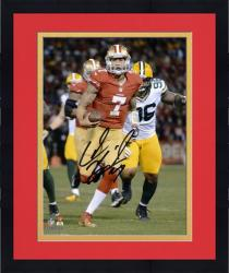 Framed Colin Kaepernick San Francisco 49ers Autographed 8'' x 10'' Run Photograph