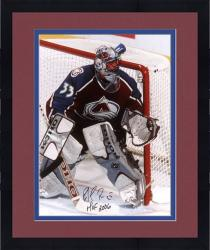 "Framed Colorado Avalanche Patrick Roy Autographed 16"" x 20"" Photo --"