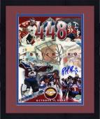 "Framed Colorado Avalanche Patrick Roy Autographed 8"" x 10"" Photo"