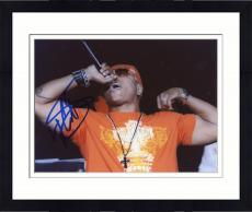 Framed LL Cool J Autographed 8'' x 10'' Orange Shirt Photograph