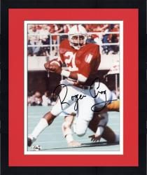 Framed Fanatics Authentic Autographed Roger Craig Nebraska Cornhuskers 8'' x 10'' Escaping Defender Photograph