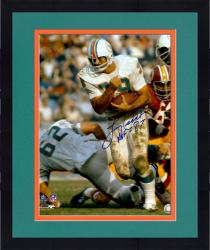 Framed Larry Csonka Miami Dolphins Fanatics Authentic Autographed 16'' x 20'' Run Ball Photograph with HOF inscription