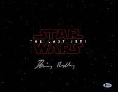 "Framed Daisy Ridley Autographed 11"" x 14"" Star Wars The Last Jedi Horizontal Photograph - Beckett"