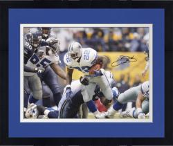 Framed Dallas Cowboys Emmitt Smith Autographed 16'' x 20'' Photo
